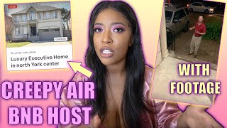 CREEPY AIR BNB HOST ALMOST RUINED MY WEDDING! | STORY TIME