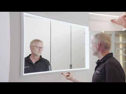 burgbad Bedienung Spiegelschrank LED Sensorschalter Lichttemperatur Steuerung 1