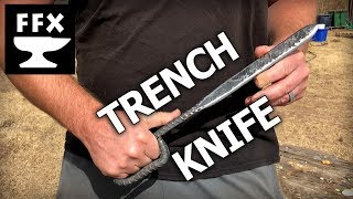 Making a Trench Knife: The French Nail