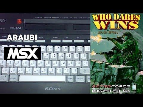 Who Dares Wins (Retroforce, 2016) MSX2 [734] Walkthrough