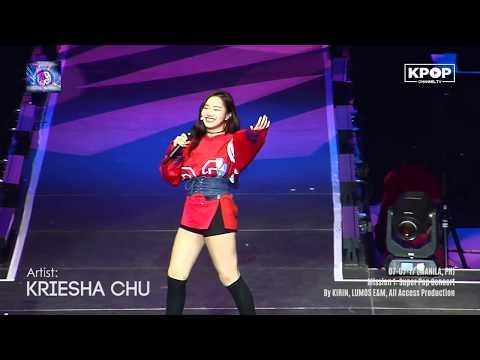 KRIESHA CHU – Kung Ako Nalang Sana + greetings at #SuperPopConcertPH2017