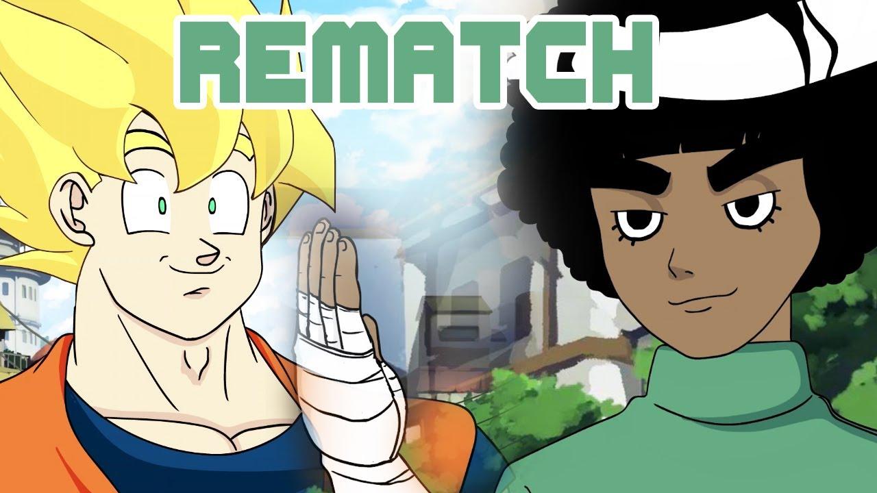 Goku vs  Naruto Rap Battle REMATCH! Part 2
