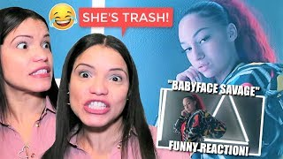 MOM REACTS TO BHAD BHABIE!