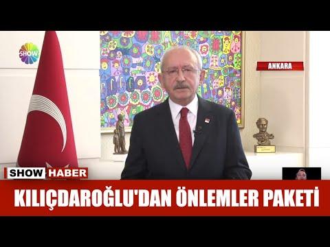 Kılıçdaroğlu'ndan önlemler paketi