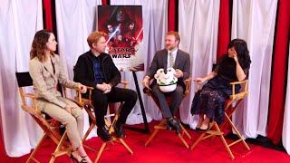 Star Wars: The Last Jedi Q&A FULL Cast Facebook Live  (12/1/17) Daisy Ridley, Mark Hamill