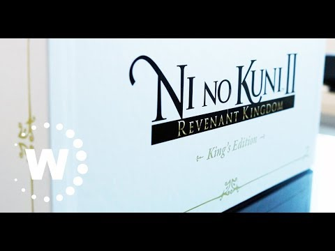 Ni No Kuni 2 Webhallen Unboxing: King´s Edition