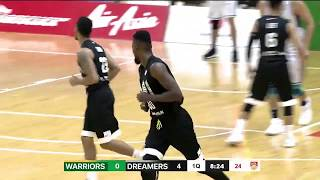 Wolf Warriors v Formosa Dreamers   CONDENSED HIGHLIGHTS   2018-2019 ASEAN Basketball League