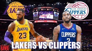 Los Angeles Clippers vs Los Angeles Lakers Full Game HD | NBA Opener 2019-20 | 10/22/2019