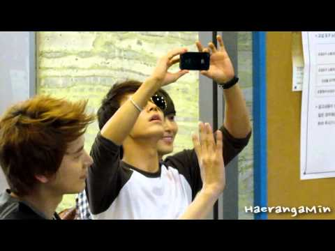 [Fancam] 120720 Sukira Sungmin & Donghae - 성민이랑 동해랑~♥