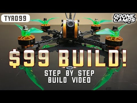 Eachine TYRO99 - PRO RACE DRONE for $99 - FULL BUILD VIDEO