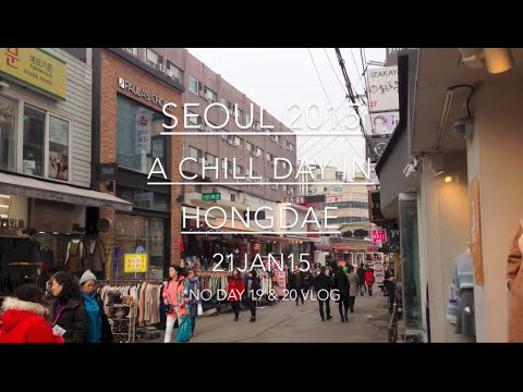 SEOUL 2015: Day 21: A Chill Day in Hongdae - January 21 | MDNBLOG