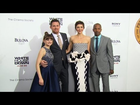 'White House Down' Premiere