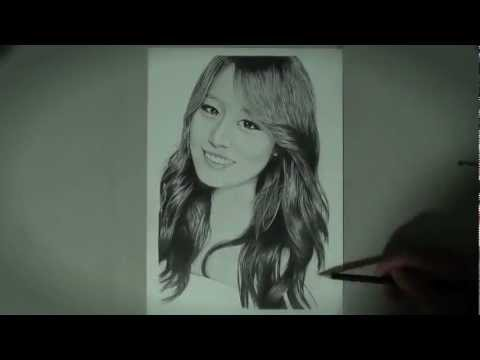 Park Jiyeon - Graphite Pencil Drawing