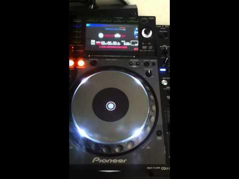 Error Pioneer CDJ 2000 Nexus E8709