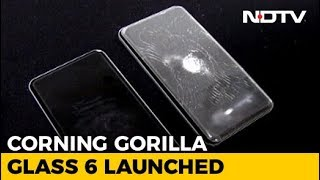 Gorilla Glass 6 can withstand 15 drops from 1 metre height..