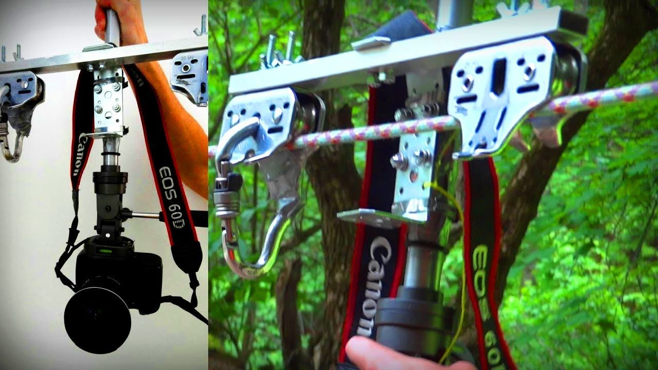 Diy Cable Cam For Dslrs And Gopro With Petzl Zipline