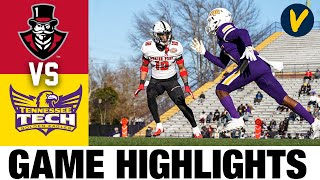 Austin Peay vs Tennessee Tech Highlights  2021 Spring FCS College Football Highlights