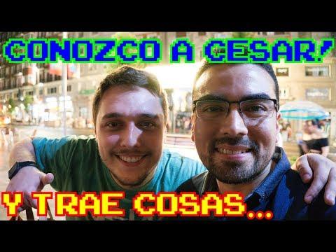 CONOZCO A CESAR!! ...Y TRAE COSAS XD || DONACIONES V25