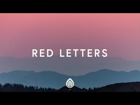 Crowder ~ Red Letters (Lyrics)