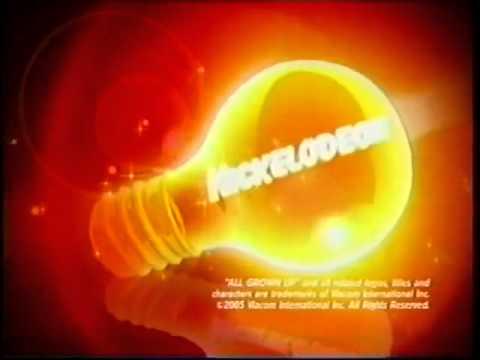 Nickelodeon Light Bulb Bumper Youtube