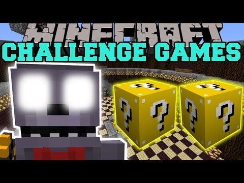 Minecraft: BONNIE CHALLENGE GAMES - Lucky Block Mod - Modded Mini-Game