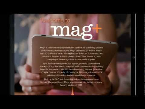 Digital publishing with Mag+