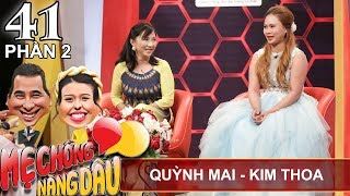 The mother-in-law advises her dauther-in-law to divorce| Quynh Mai - Kim Thoa| MCND #41