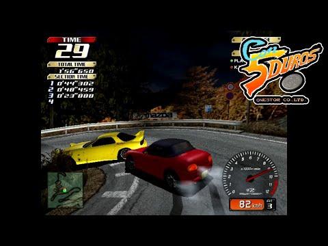 """INITIAL D ARCADE STAGE VER.2 (EXPERT COURSE) - """"CON 5 DUROS"""" Episodio 884 (+Mario Kart / GBA) (1cc)"""