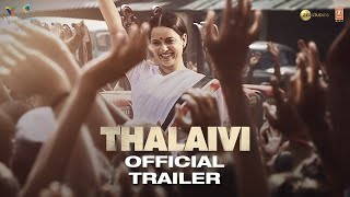 Thalaivi 2021 Movie Trailer Video HD