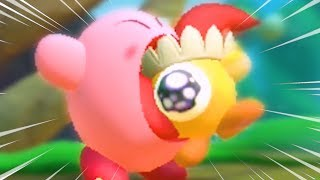 Kirby Star Allies demo but some funny stuff happens