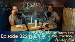 "Ep. 022 ""Easter: Survey-says Quiz & Resurrection Apologetics"""