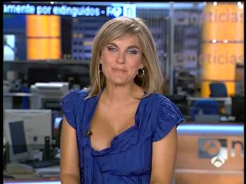 News anchors nipple slip