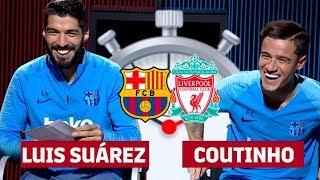7 SECOND CHALLENGE BARÇA-LIVERPOOL | Luis Suárez & Coutinho