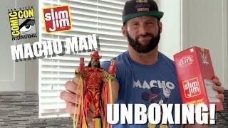 SDCC Slim Jim Macho Man Unboxing