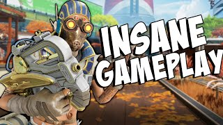 The most INTENSE gameplay you'll watch today - APEX LEGENDS