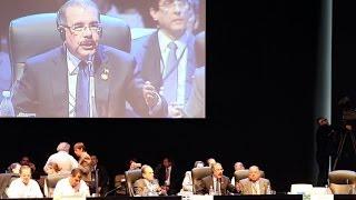 Danilo Medina afirmó que acepta que nadie atente contra la soberanía de la RD