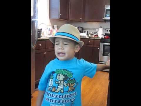 Kai singing Bruno Mars song Grenade