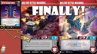 Super Rare Ultra Magnus Has Its Own 2 STAR Battle Card! (Transformers TCG)