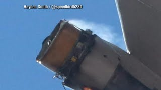 How did a plane's engine fall apart minutes into a flight from Denver? | Nightline