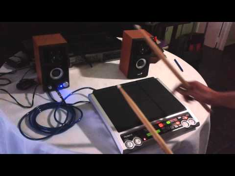 roland octapad SPD-S samples cumbia