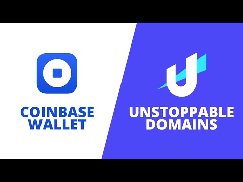 Coinbase Wallet x Unstoppable Domains