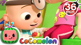 The Doctor Checkup Song + More Nursery Rhymes & Kids Songs - CoCoMelon