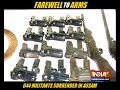 644 militants surrender in Assam - 03:30 min - News - Video