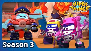 The Show Must Go On | super wings season 3 | EP17