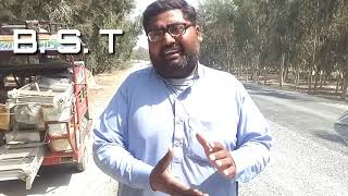 M. M qatil Road repairing.... Loly pop