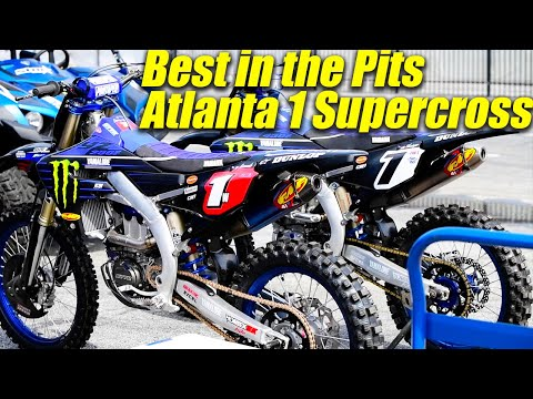Atlanta 1 Supercross Best in the Pits - Motocross Action Magazine