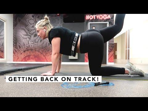 GETTING BACK ON TRACK | CANADA VLOG | Estée Lalonde