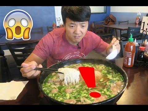 The MASSIVE Pho Noodle Soup Challenge!!!