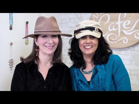 Artbeads Cafe - Hat Ideas with Cynthia Kimura and Cheri Carlson