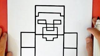 como desenhar o herobrine youtube musicbaby